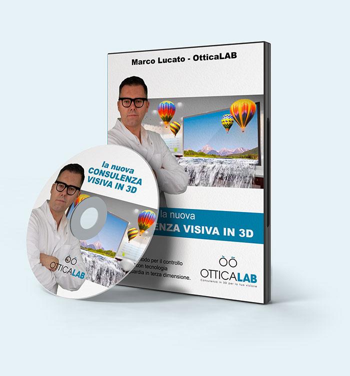 dvd Consulenza visiva in 3d - Otticalab